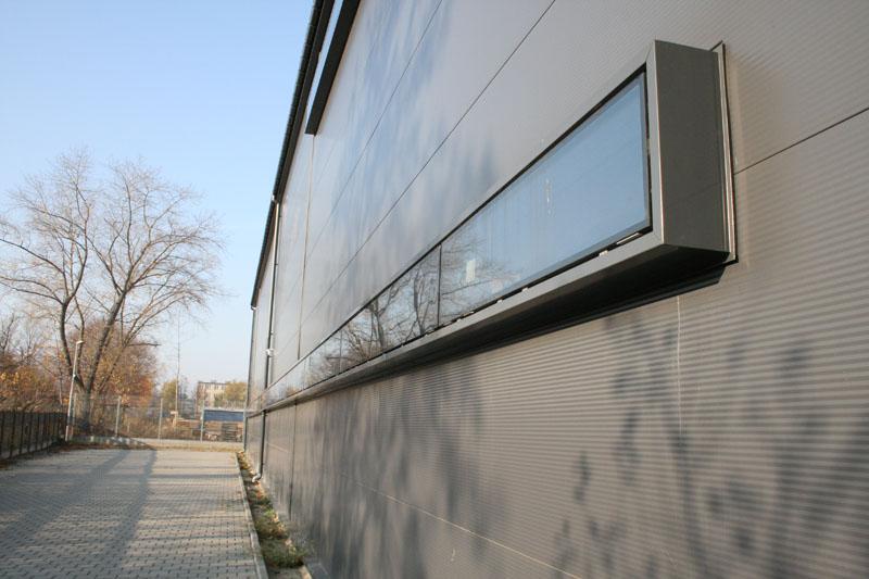 Architektura i aranżacja hala produkcyjna Gdynia