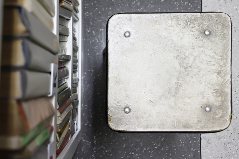 Aranżacja wnętrz BIBLIOTEKA w VI LO w Gdyni